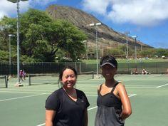 さとうあつこのハワイ不動産: USTA 4.0 初勝利@Koko Head