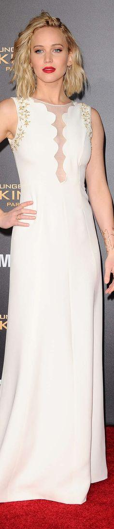 Jennifer Lawrence In Dior, Nov 2015