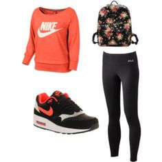 For fitness, excellent Nike shoes, ladies leisure sports shoes | I want that flowery bag!