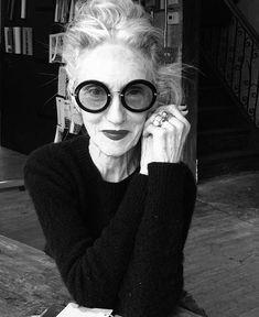Linda Rodin wearing Miu Miu UN 13NS Sunglasses | SelectSpecs