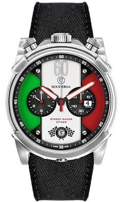 725de0b6454 CT Scuderia Watch Street Racer Chronograph  bezel-fixed… Dream Watches