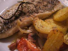 Das perfekte Fisch: Hechtfilets mediterran angehaucht-Rezept mit einfacher Schritt-für-Schritt-Anleitung: Den Hecht von Kopf und Schwanz befreien. (Hab ich…