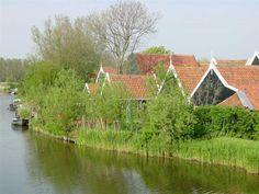 Vakantiehuisje Jut & Jul - het huisje, 10 km v alkmaar, aan t water