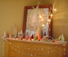 Christmas Glitter Houseshttp://www.lifeisaparty.ca/2010/christmas-glitter-houses/