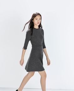 FLARED MINI DRESS
