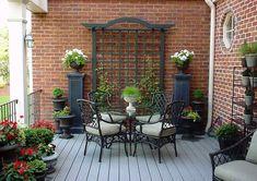 45 New Ideas Backyard Garden Patio Trellis Patio Trellis, Pergola Patio, Backyard Patio, Backyard Landscaping, Gazebo, Pergola Screens, Trellis Ideas, Patio Design, Garden Design