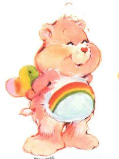 cartoons tattoos Care Bears: Cheer Bear Has a Surprise Care Bear Tattoos, Tattoo Care, Vintage Cartoon, Vintage Toys, Childhood Toys, Childhood Memories, Care Bears Vintage, Care Bear Party, Cartoon Tattoos