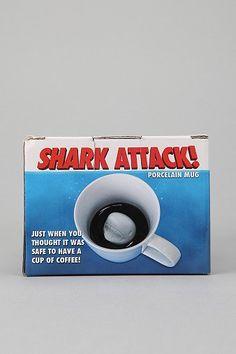 Surprise Inside Mug - Shark    Perfect for shark week!