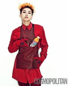 GDRAGON - Cosmopolitan Magazine July Issue '13