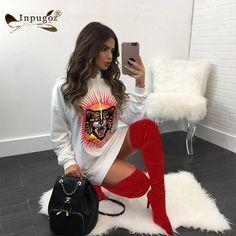 Fashion Animal Print Women Hoodie Mini Dress Sexy Short Bodycon Shirt Dress