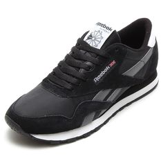 Reebok CL NYLON R13(リーボック クラシック ナイロン R13)BLACK/IMPACT BLUE/WHITE【14FW-I】【楽天市場】 Adidas Samba, Adidas Sneakers, Sneaker, Adidas Shoes