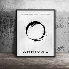 Movie poster print,Arrival-alternative movie poster printable,Mnimal film art,Printable files,Wall art Decor,Instant Download,Printables