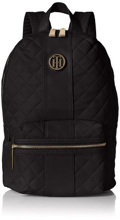 Tommy Hilfiger Isla Quilted Nylon Backpack -- This is an Amazon Affiliate link. You can find more details by visiting the image link.