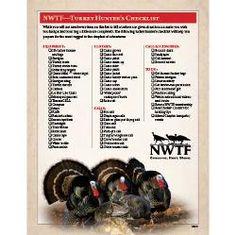Turkey Hunter Checklist
