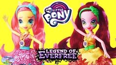 My Little Pony Legend Of Everfree Dolls Gloriosa Fluttershy Surprise Egg...