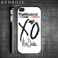 The Weeknd XO Till We Overdose custom iPhone 4 case. Wish I had an iphone just for this