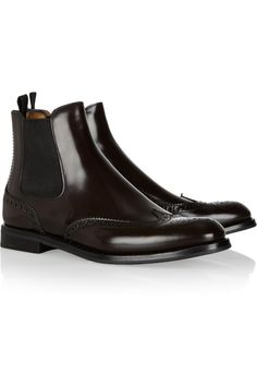 Church's | Ketsby polished-leather Chelsea boots | NET-A-PORTER.COM