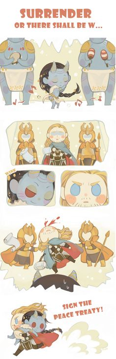 Oh my gosh... dancing chibi jotunn Loki.... so cuuuute! =D
