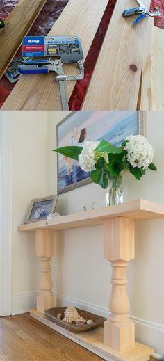 Mesa para el recibidor