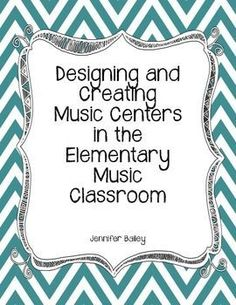 Elementary Music Centers - FREEBIE!