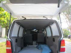 Velcro Curtains for Your Camper Van Minivan,(DUUHHH why didnt I think of this) Camping, FROM Instructables Car Camper, Mini Camper, Rv Campers, Camper Van, Pickup Camper, Minivan Camping, Stealth Camping, Truck Camping, Tent Camping