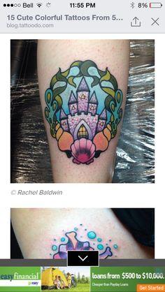 Large teats and tattoo