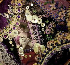 I love crazy quilts! http://selvageblog.blogspot.com/