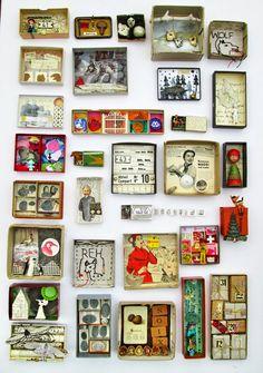 mano's welt: kunstschachteln 353 - 366