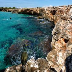 Rocky Coast of Son Xoriguer: Minorca, Balearic Islands, Spain / photo by Ben