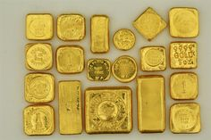 Rare, Collectable and Vintage Gold Bars. (Page / Gold Gold Bullion Bars, Bullion Coins, Silver Bullion, Today Gold Rate, Gold Reserve, Gold Prospecting, Gold Money, Gold Stock, Black Gold Jewelry