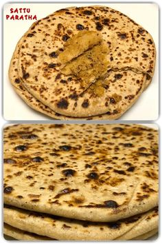 is full of fibre, and essential nutrients like protein thus making this one a healthy dish. Sattu Paratha is a popular dish/bread in Bihar. It can be served as a breakfast, for lunch or dinner. It goes very well with yogurt/curd, butter and/or pickle. Indian Food Recipes, Vegan Recipes, Ethnic Recipes, Healthy Dishes, Pickles, Yogurt, Protein, Butter, Vegetarian