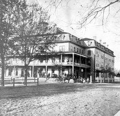 Florida Memory - View of St. James Hotel - Jacksonville, Florida 1872