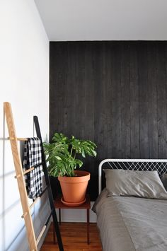 A New Twist on the Matte Black Trend (This One On Your Walls)
