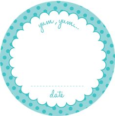 Free Printable Canning Jar Labels.  yup. ....polka dots and florals....