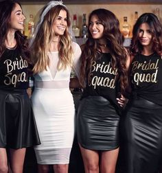 Bachelorette Party Outfit Ideas Pictures bachelorette party bride squad outfits in 2019 Bachelorette Party Outfit Ideas. Here is Bachelorette Party Outfit Ideas Pictures for you. Bachelorette Party Outfit Ideas bachelorette party outfit i. Bachlorette Party, Bachelorette Outfits, Vegas Bachelorette, Bachelorette Party Pictures, Bachelorette Party Checklist, Bride Squad, Before Wedding, Maid Of Honor, Bridal Squad Shirts