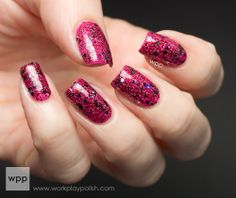 work/play/polish: Shimmer Mary over Milani Pink Express