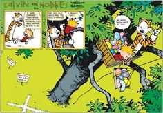 Calvin and Hobbes - i love summer