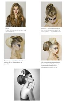 The Bun,  hair by Anne Veck