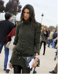 Geraldine Saglio - fashion editor & assistant stylist for Vogue Paris
