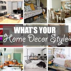 What's Your Home Decor Style by Of Houses and Trees | Is your home decor style Coastal or Contemporary? Scandinavian or Shabby Chic? Art Deco, Industrial, Mid-Century Modern, Traditional? Click through to read more on this project as well as posts about architecture, interior design and sustainability at www.ofhousesandtrees.com.