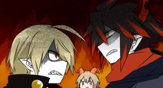 Vendetto, Ivlis and Poemi - the Gray garden / Wadanohara and the great blue sea