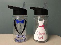Ring Bearer Gift Flower Girl Gift  Wedding Party  by VtoYouDesigns