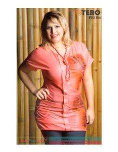 Otero Plus Size - Coleção Primavera/Verão 2013