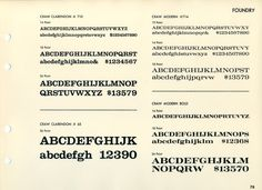 Craw Clarendon and Craw Modern were designed by Freeman Craw. They were released by ATF over the periods 1955-60 and1958–64, respectively. Craw Clarendon was released for Monotype in 1957. The designs are rooted in nineteenth century British and American types, but with an exaggerated, casual style similar to lettering of the era as described by Mortimer Leach in his 1956 book Lettering for Advertising. These are excellent types and the digital versions are sadly neglected in contemporary…