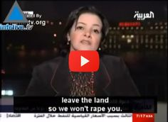 "ALL WOMAN: Stand Up For Your Rights NOW! Their logic, ""Rape Israeli women because we have no laws against sexual harassment.Then they will leave the land."" But don't quote me, watch this for yourself!"