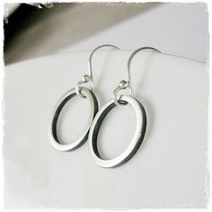 Shadowbox Circle Drop Earrings in Oxidised and Matt Sterling Silver Handmade Jewellery, Unique Jewelry, Handmade Gifts, Silver Jewellery Indian, Shadow Box, Sterling Silver Jewelry, Drop Earrings, Personalized Items, Trending Outfits