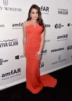Lea Michele - jantar de gala do amfAR.