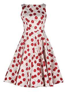 Anni Coco Women's 50s Vintage Retro Cherry Dresses White Small Anni Coco http://www.amazon.com/dp/B00WHTB48Y/ref=cm_sw_r_pi_dp_ZV7nvb0TK1TPN