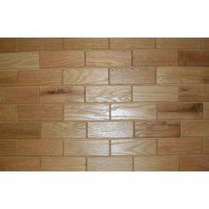 Wooden Wall Tile rustix woodbrix wooden wall tile @homedepot | wood subway