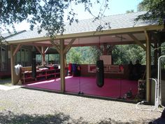 "outdoor dojo - Google Search - Man I want to make one of these. ""Someday"" project :)"